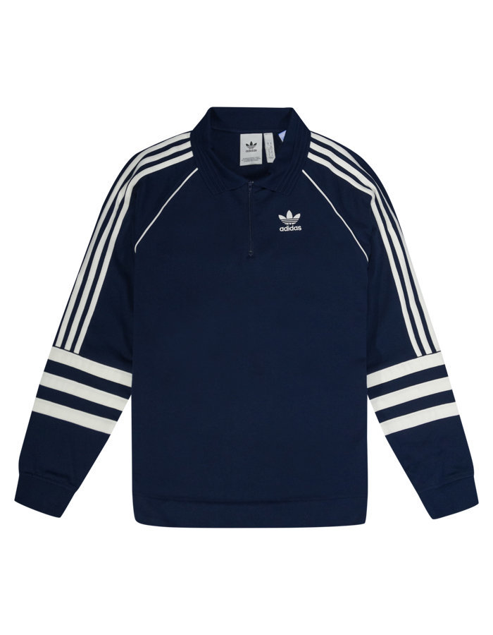 Adidas Rugby Polo Shirt in Navy