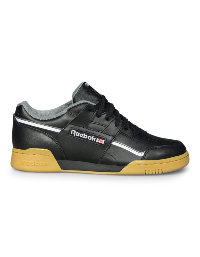 Reebok workout MU sneaker in black