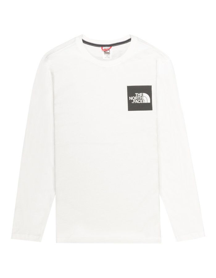 The North Face Black Label LS Fine T-shirt in White