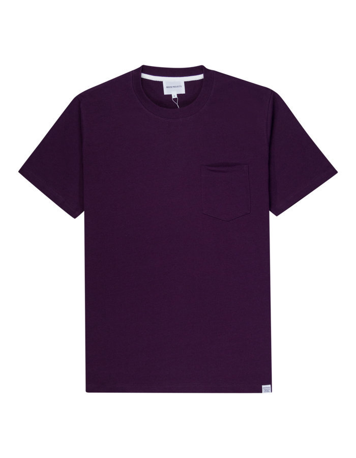 Norse Projects johannes t-shirt in purple