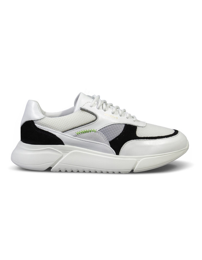 Axel arigato genisis sneaker in white/black