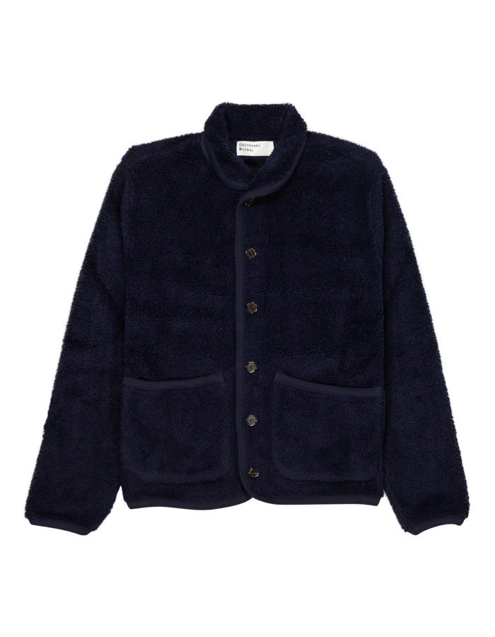 Universal Works lancaster jacket in navy