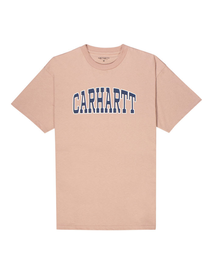 Carhartt theory t-shirt in pink