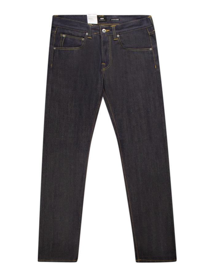Edwin ED-55 regular tapered jeans in rainbow selvage
