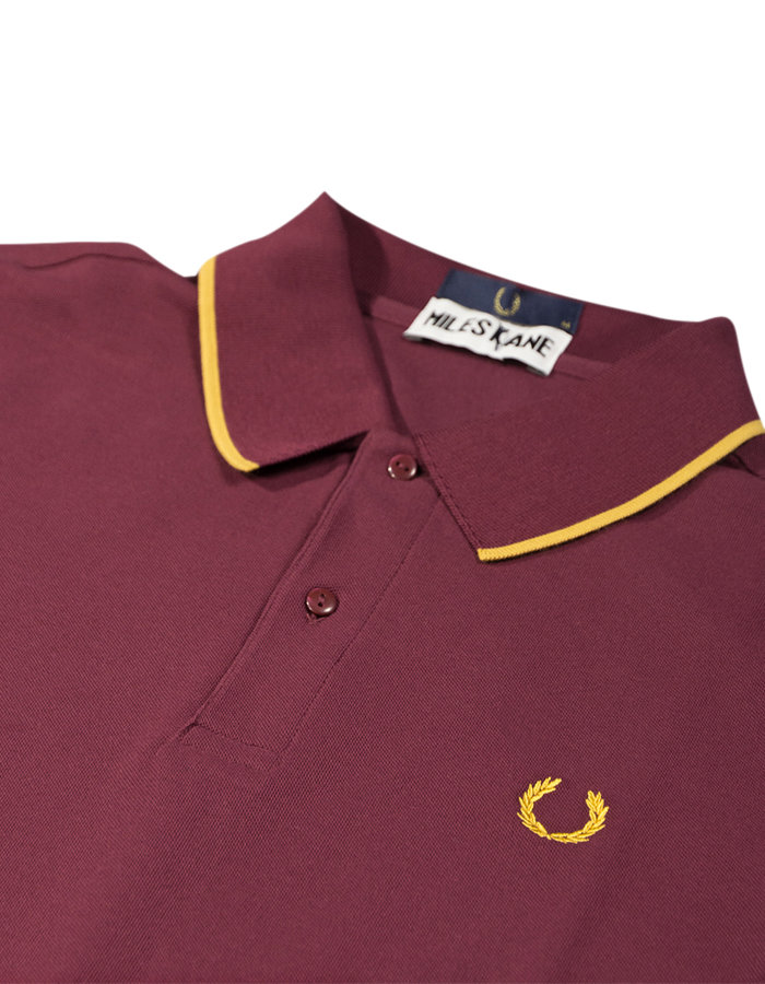 Aubergine NEW MENS Fred Perry Miles Kane Polo Shirt