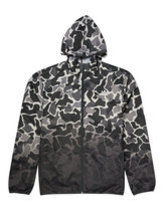 Adidas camo windbreaker in white Thumbnail