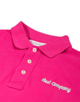 Best Company logo polo shirt in pink Thumbnail