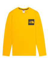 The North Face Black Label LS Fine T-Shirt in Orange Thumbnail
