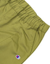 Champion straight hem drawstring pant in olive Thumbnail