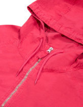 Pop trading company drs half zip hood in red Thumbnail