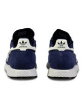 Adidas forest grove sneaker in navy/white Thumbnail