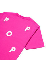 POP TRADING COMPANY LOGO T-SHIRT IN PINK Thumbnail