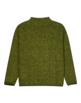 Universal works cardigan wool fleece in green  Thumbnail