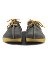 Lennon Suede Negative Heel in Charcoal Thumbnail