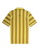 Fred perry x Nicholas Daley striped shirt in dijon yellow  Thumbnail