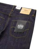 Edwin ED-55 regular tapered jeans in rainbow selvage Thumbnail